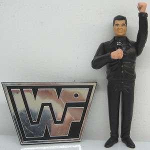 Jakks Pacific 1997 Wreslting WWF Ringside Collection 6 Vince McMahon