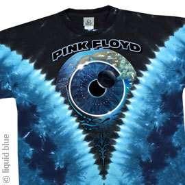 New PINK FLOYD Pulse Tie Dye T Shirt