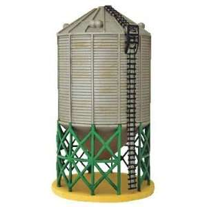 com Sukup Grain Towers (2) Large N Scale Train Building Toys & Games