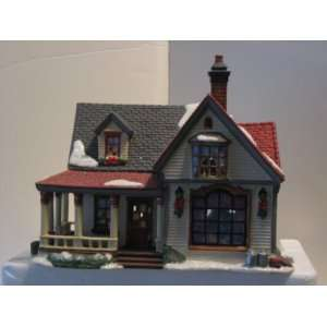 Holiday Time 2004 Village Collectibles Porcelain Lighted Farm