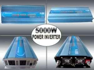 10000W MAX 5000W Power Inverter 24VDC/230VAC PowerJack