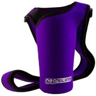 Recycled Plastic (PET) Reusable Water Bottle Sling   2 Pack