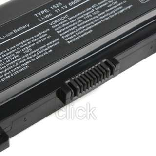 CELL Battery For Dell Inspiron 1525 1526 1545 K450N GP952 RU586