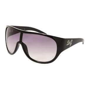 D G 8036b Black Gray Gradient Sunglasses