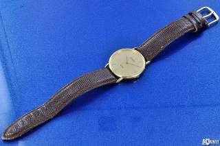 Mens Movado Quartz Wrist Watch Circa 1990s