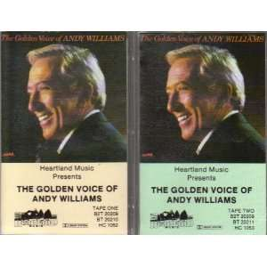 The Golden Voice of Andy Williams (2 Audio Cassette Tape