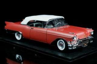 DANBURY MINT 1957 Cadillac Eldorado Biarritz Diecast 1:24 Scale Rose