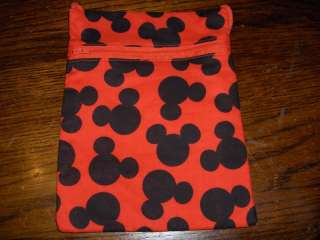 Mickey Mouse fabric purse bag tablet kindle case 1