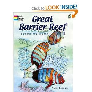 Great Barrier Reef Coloring Book (Dover Nature Coloring
