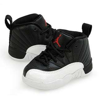 NIKE AIR JORDAN 12 RETRO PLAYOFFS (TD) INFANT Sz 10 Shoes Basketball