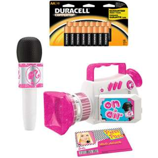 Barbie TV News Anchor and Duracell Battery Stockup Bundle
