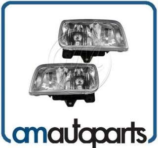 99 00 Cadillac GMC Escalade Denali Headlights Headlamps Pair Set