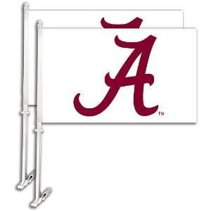 Bsi Alabama Crimson Tide Car Flag Set Of 2 Sports