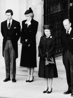 Queen Elizabeth II Prince Philip Princess Diana and Prince Charles at