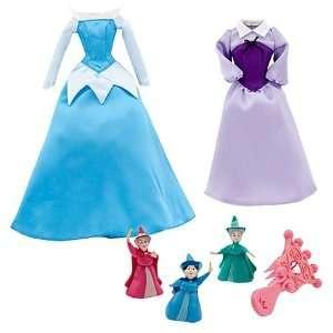 Princess Aurora Doll Wardrobe and Friends Set