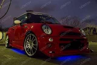 4PC 7 Color LED Underbody Under Car Lights Kit + Remote