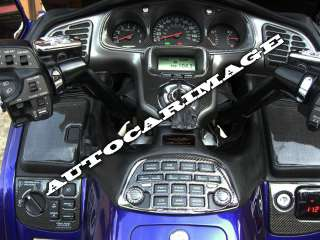 Honda Gold Wing Dash Trim Kit 2001 02 03 04 05 06 2008