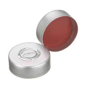 Wheaton 224223 01 Natural Aluminum Center Disc Tear Out Lined Seal