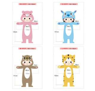 SAZAC Kigurumi Animal Character Costume Pajama Pink Bear HOT