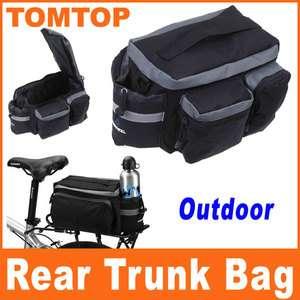 Cycling Bicycle Bike Rear Seat Trunk Bag Shoulder Handbag Bag Pannier