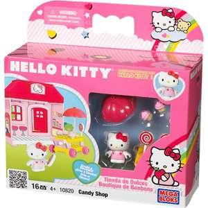 Hello Kitty Candy Store Playset, Hello Kitty Mega Bloks Playset, Hello