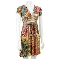 Sam & Max Womens Short sleeve Sublimation Dress
