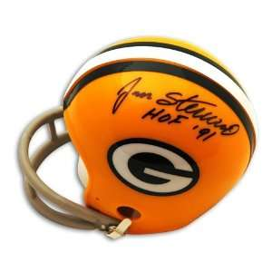 Jan Stenerud Autographed/Hand Signed Green Bay Packers Mini Helmet