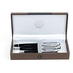 Bill Blass Grenadier Black Pen Set (Set of 3)