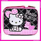 Sanrio Hello Kitty School Lunch Box Lunch Bag Purse Pink Love Teddy