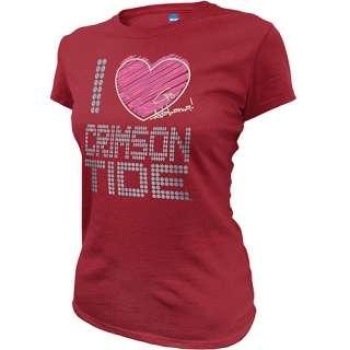 NCAA   Womens Alabama Crimson Tide Short Sleeve Tee