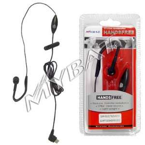 High Quality Black Ear Loop Earloop Stereo Handsfree