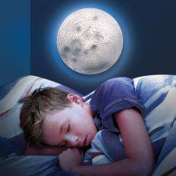 Discovery Kids Illuminated Remote Control Lunar Phase Moon Lamp