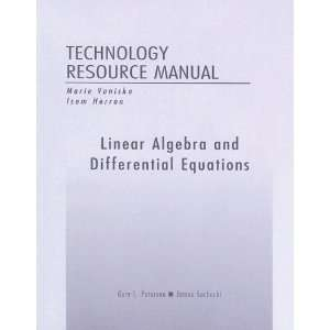 Linear Algebra and Differential Equations Technology