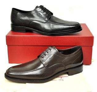 New Salvatore Ferragamo Mens Shoes Cody Original Dress Oxford Tie $
