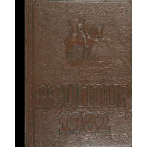 Reprint) 1982 Yearbook Southwood High School, Shreveport, Louisiana