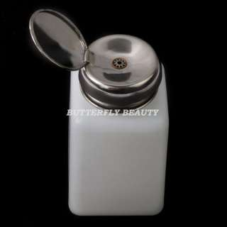 Empty Pump Dispenser Nail Art Polish Remover D15