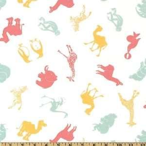 44 Wide Moda Hullabaloo Zoology Pastel Fabric By The