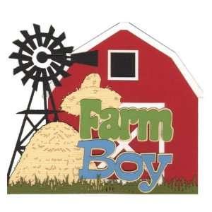 Farm Boy Laser Die Cut Arts, Crafts & Sewing