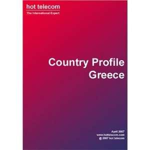 Greece   telecom country profile hot telecom Books