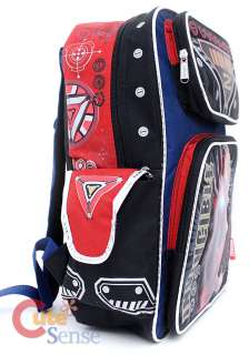 Marvle IronMan 2 School Backpack Iron Man Bag 16 Large