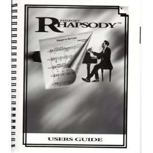 1995 Pasport Rhapsody Users Guide Various Books