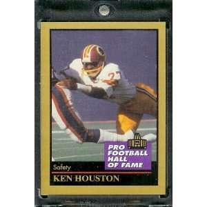1991 ENOR Ken Houston Football Hall of Fame Card #67   Mint Condition