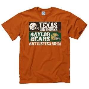 Baylor Bears vs Texas Longhorns 2011 Match up T Shirt Sports