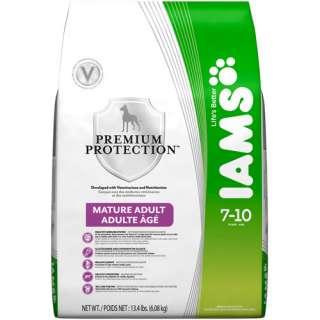 Iams Premium Protection Dry Dog Food, Senior 13.4lb Bag