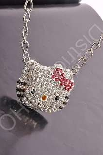 Cutie HELLO KITTY SWAROVSKI barbie necklaces pendants