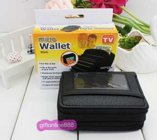 High Quality Leather Micro Wallet Purse Coin Bag