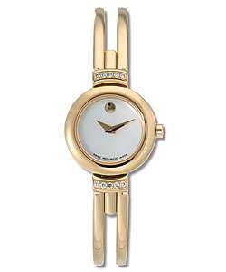 Movado Harmony Womens Gold Tone Bangle Watch
