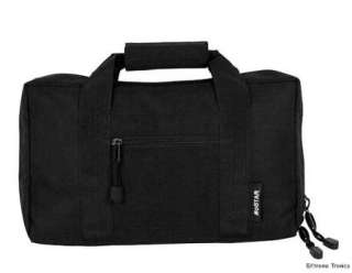 NEW NcSTAR Black Discreet Padded Pistol Gun Carrying Bag Storage Case