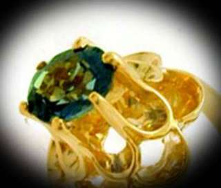 NATURAL 0.69 carats RUSSIAN ALEXANDRITE RING 14K GOLD