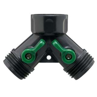 Orbit Plastic Hose Y Valve: Garden Center